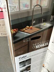 details about kohler rc21612 2pc na cater kitchen sink
