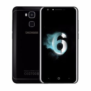 DOOGEE Y6 Piano Black 5.5 Inch Smartphone 4GB RAM 64GB ROM Unlocked Octa Core 4G