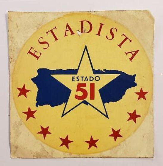 VTG STICKER UNUSED / PARTIDO ESTADISTA REPUBLICANO / PUERTO RICO 1960's |  eBay