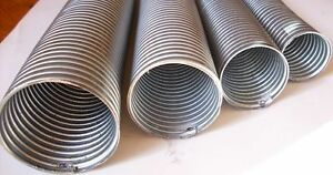 details about 28mm 1 1 8 flexi pipe tube 500mm exhaust flexible excellent quality