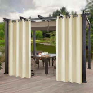 detalles acerca de 4pack 50 x96 outdoor indoor patio curtains panel for pergola uv ray protection