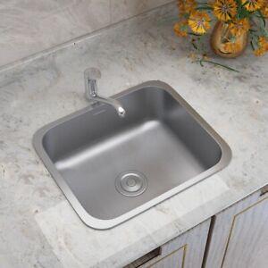 kitchen sink stainless steel undermount