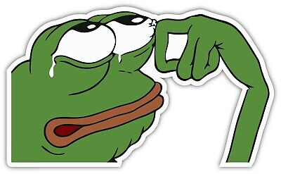 Download Meme Stickers Cry Transparent Background Image For Free