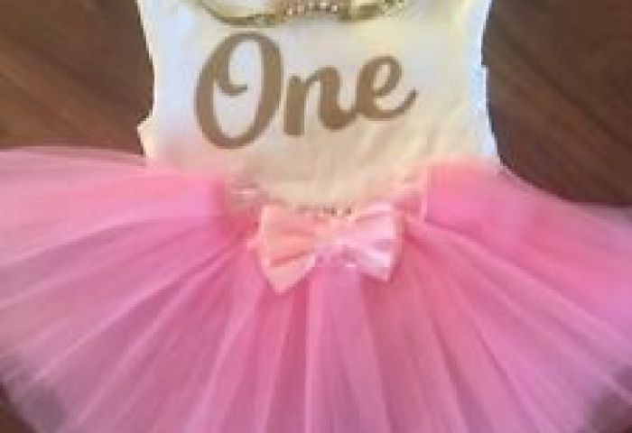 Baby Girls Ist Birthday Cake Smash Photo Me Princess Party Outfit