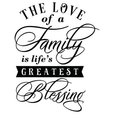Download The Love of A Family is Life's Greatest Blessing Vinyl ...