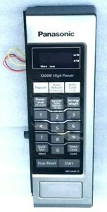 details about panasonic control panel assembly with main board for microwave nn sa651s e5 3