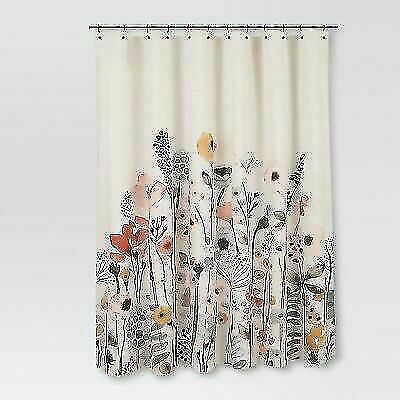 threshold 43528 120154 floral wave shower curtain for sale online ebay