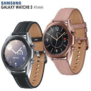 Samsung Galaxy Watch 3 SM-R850 (41mm) Wi-Fi Smartwatch Leather Stainless Steel