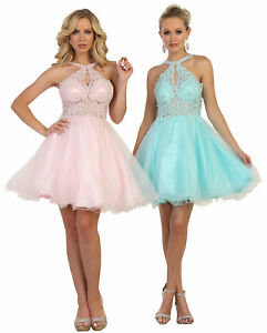 New Cocktail Homecoming Winter Formal Prom Short Dresses Sweet 16 Birthday Party Ebay