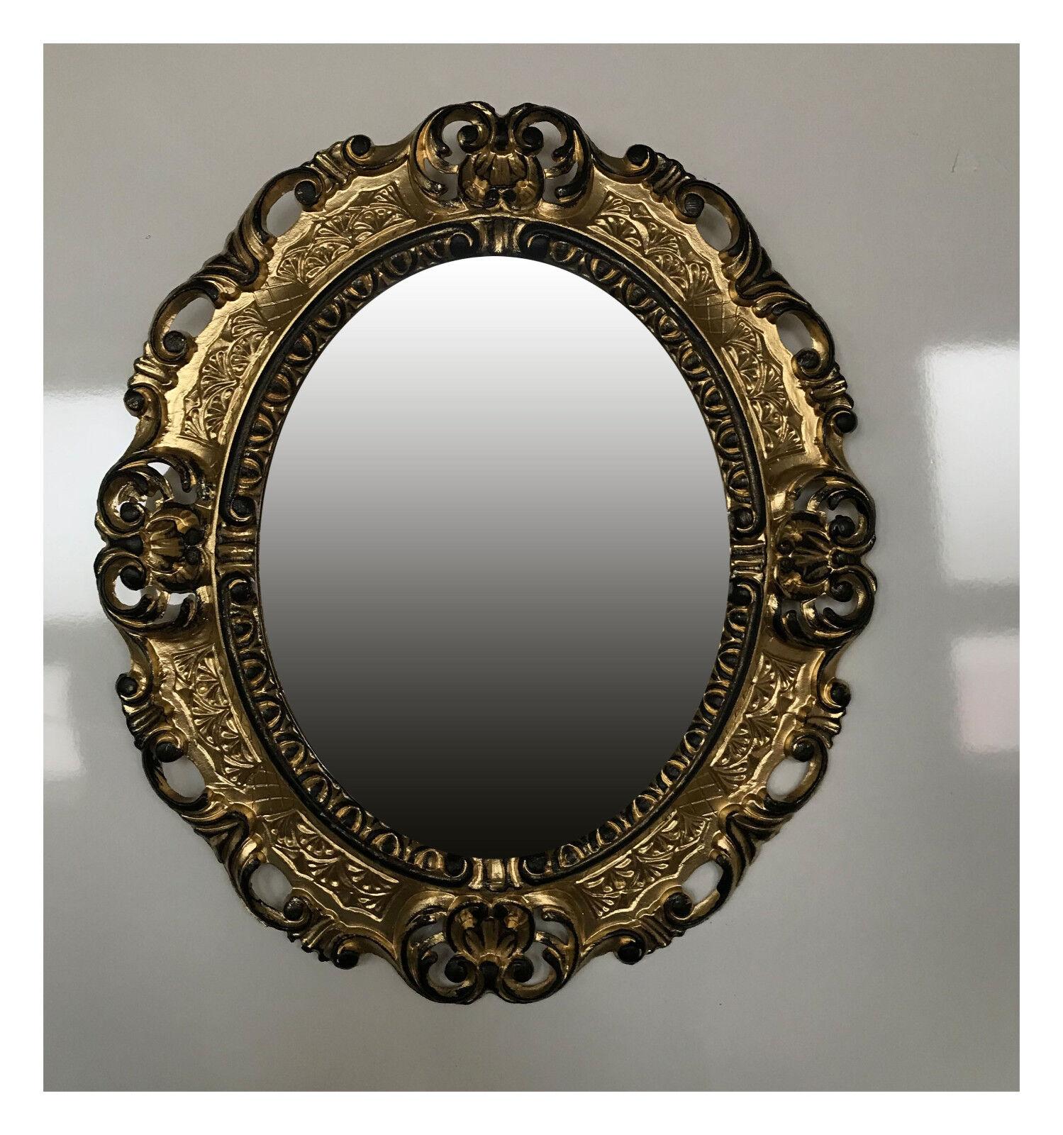 details sur baroque antique cadre d image en or noir image photo cadre photo ovale 45x38 cm