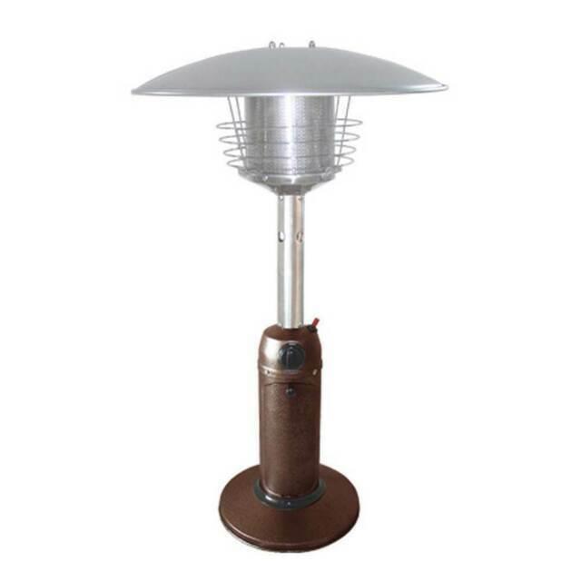 az patio heaters hlds032 cg tabletop patio heater bronze