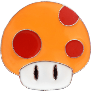 Enamel Pin Mushroom Super Mario Bros Video Game Gift Button Lapel 3669 New Ebay