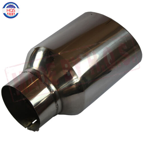 clamp on diesel exhaust tip chrome stainless steel 8 outlet 5 inlet 15 long auto parts accessories tu berlin auto parts and vehicles