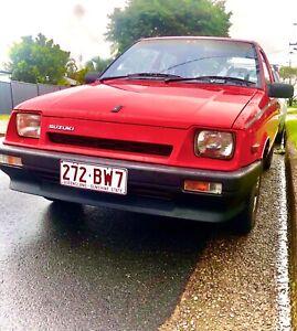 BARN FIND 1986 Suzuki Swift GA 1.0L 3cyl 5spd manual 3 door hatch
