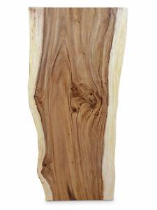 details sur plateau de table bois massif baumkante sueur a manger plaque 120 jusqu a 200 cm