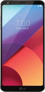 """NEW LG G6 H870DS 64GB (FACTORY UNLOCKED) 5.7"""" QHD Dual Sim - Black"""