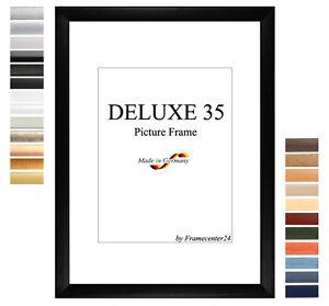 details zu deluxe35 bilderrahmen 45x32 cm oder 32x45 cm foto galerie posterrahmen