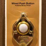 Hampton Bay Wired Push Button Door Bell Tiendamia Com