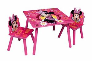 details sur disney princesse table et chaises set en bois kids nursery playroom meubles play afficher le titre d origine