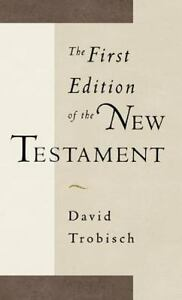 Image result for The First Edition of the New Testament