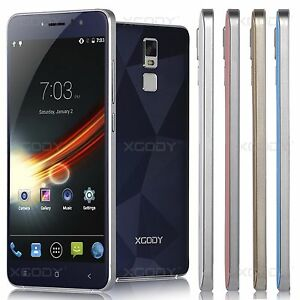 "XGODY Unlocked 5.5"" Android 5.1 4Core Dual SIM 3G GPS Cell Phone Smartphone New"