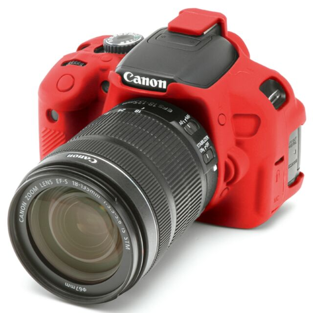 EasyCover Protective Skin   Camera Cover for Canon EOS Rebel T4i or     EasyCover Protective Skin   Camera Cover for Canon EOS Rebel T4i or T5i   red