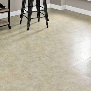 details about vinyl floor tiles self adhesive peel and stick large beige stone flooring 18x18
