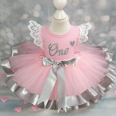 Buy Baby Girls 1st Birthday Outfit Off 51