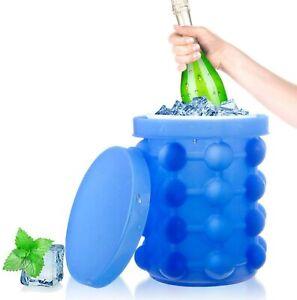 details sur bac a glacons bouteille ice cube maker silicone glacon seau moule glacon