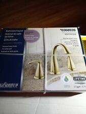 aquasource bathroom faucet polished