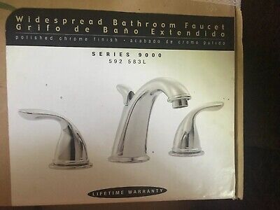 pegasus 9000 series 592 583l 2 handle bathroom faucet polished chrome finish ebay