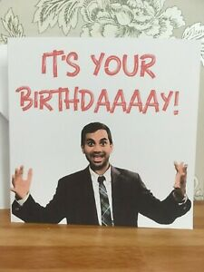 Funny Tom Haverford Personalised Birthday Card Parks And Rec Recreation Ebay