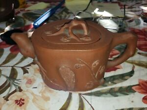 Chinese 20th century well shaped Light Clay Yixing Teapot China - 1940s