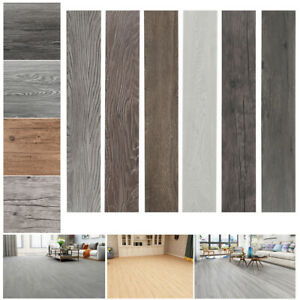 details about 5 02m flooring planks self adhesive floor plank waterproof pvc tile 36piece box