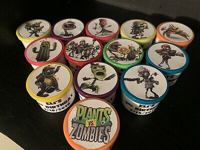 16 Plants Vs Zombies Birthday Party Favors Gifts Activity Dough Ebay