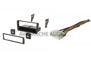 Complete Honda Civic Car Stereo Deck Install Kit