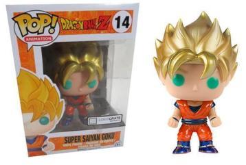 Funko Pop Metallic Super Saiyan Goku 14 Loot Crate for sale online   eBay