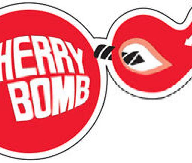 Image Is Loading Cherry Bomb Racing Vintage Vinyl Decal Sticker 5