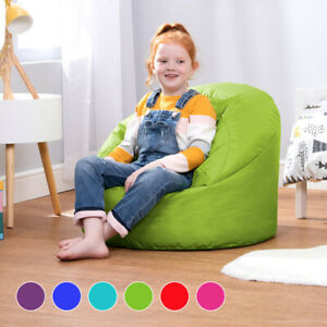 details about bean bag childrens cup chair kids seat teen indoor outdoor beanbag large small
