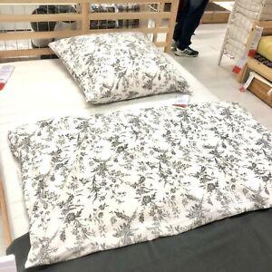 Ikea Alvine Kvist Draps Literie 140x200 Cm Set De Linge Lit Gris Nouveau Ovp Ebay