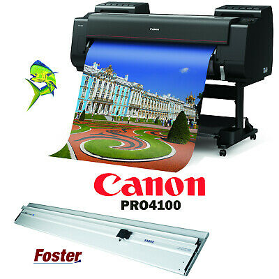 new 44 poster banner maker canon pro4100 foster 60 sabre 2 bar cutter ebay