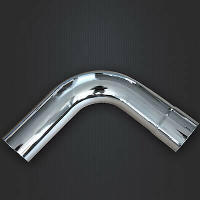brand new 5 inch id od chrome 90 degree exhaust elbow 19 5 arms ebay