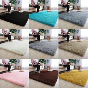 details sur moelleux tapis anti derapant tapis epais super doux tapis de salon floor bedroom afficher le titre d origine