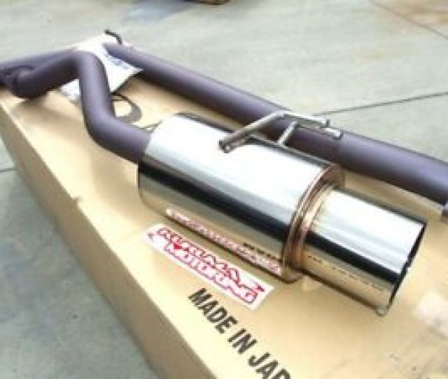 Image Is Loading Apexi N1 Catback Exhaust 02 05 Civic Si