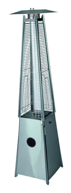 living accents pyramid propane patio heater 4794079
