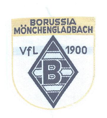 borussia m gladbach aufnaher logo bmg vfl patch wappen fussball goldfaden ebay