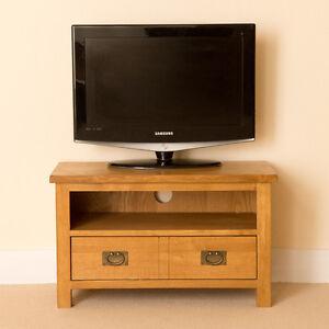 details sur lanner chene petit meuble tv unite rustique en bois massif television medias cabinet 80 cm afficher le titre d origine