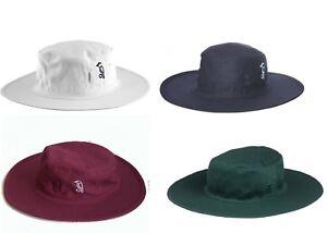 Kookaburra Cricket Sun Hat Anti Crinkle Comfortable Towel Banded Wide Brim Hat Ebay