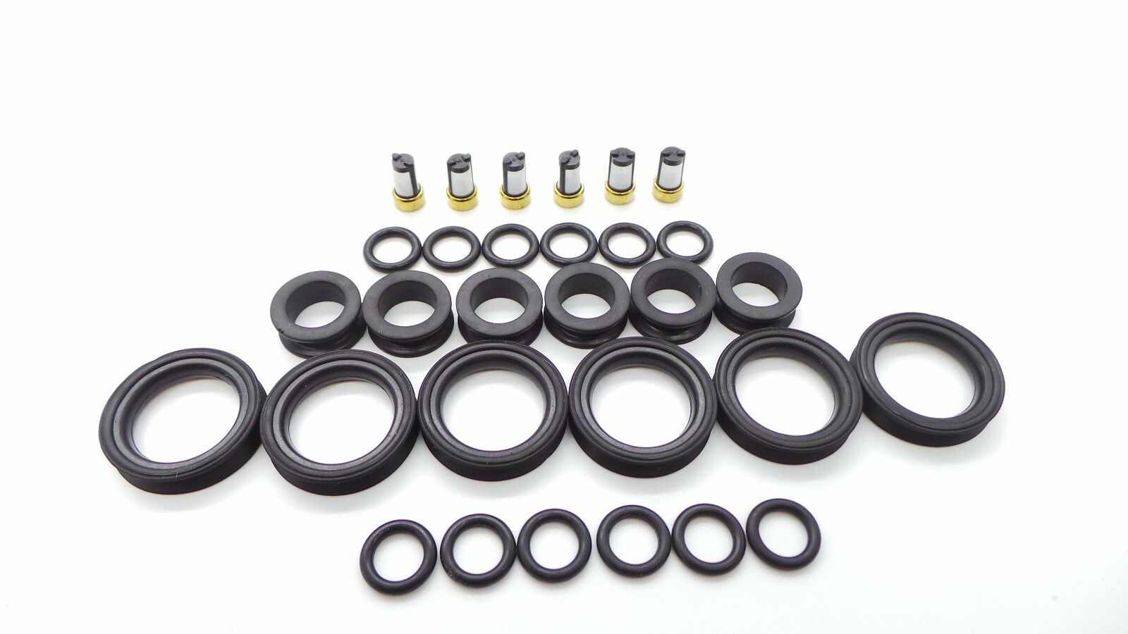 Toyota Lexus V6 Fuel Injector Repair Kit O Rings Grommets