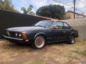 1982 BMW 6-Series